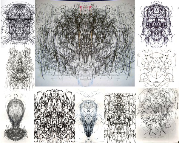 Various Automatic Drawings
