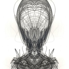 Iaam, pencil on paper digitally edited, A4