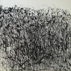 Where's the Spirit, acrylic on canvas, 6x7ft