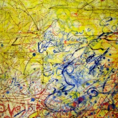 Humour Paradox Change: Love, oil paint on canvas, 9x6ft (detail 1)