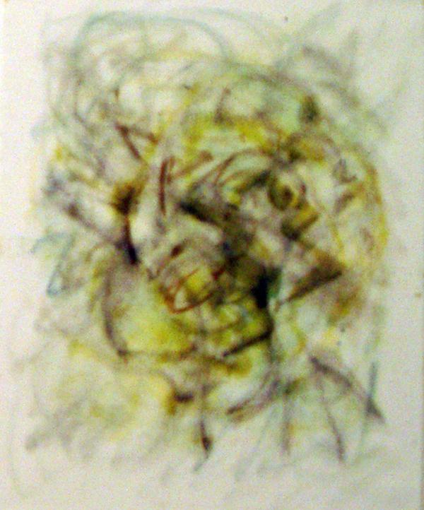 Yin, oil paint on canvas, 25x30cm
