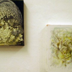 Yin & Yang, oil paint on canvas, 25x30cm