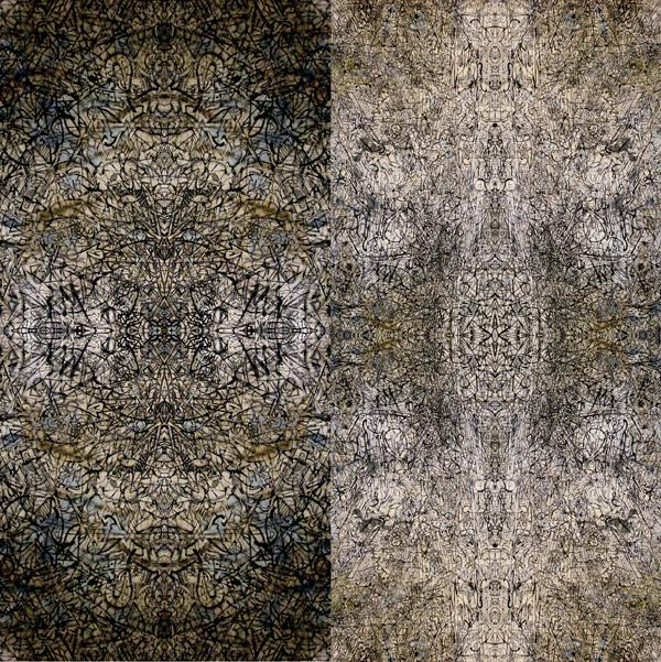 Synthesizing Mandala 1 & 2, digital print