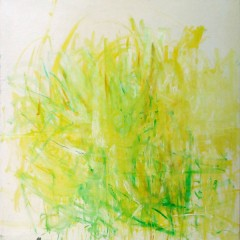 Summer Painting (2007), oil paint on canvas, 2x2m