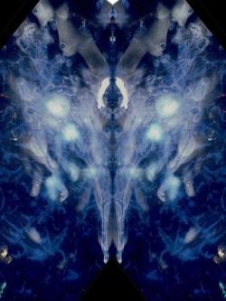 Pregnant Angel, digital print
